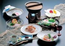 新鮮な山海の食材・季節の食材をふんだんに!