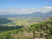 大観峰からの景色