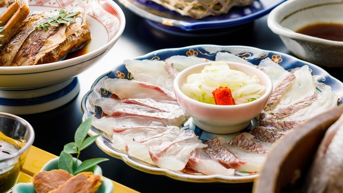 一番人気【鯛姿盛り&鯛しゃぶ会席】八汐ベストセラー!新鮮な鯛をしゃぶしゃぶ&姿造りで味わう