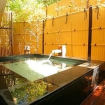 大浴場に併設する露天風呂