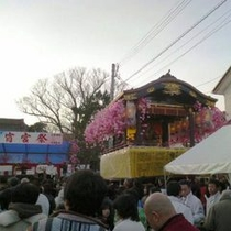 曳山祭り「宵宮」
