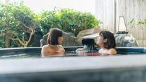 輪島温泉のお湯は海が近いことから、潮の味のするお湯です。