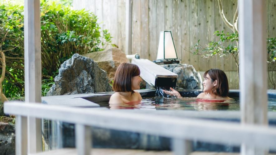 輪島港がみえる露天風呂を備えた「福の湯」