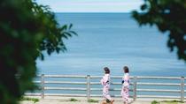 当館から徒歩1分の袖ヶ浜散歩道。