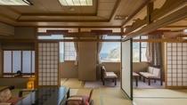 日本海一望の眺望の特別貴賓室