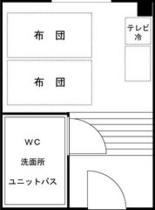 ●和室6畳平面図