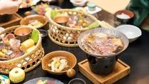 【お食事】ある日の献立一例(上州赤城牛のすき焼き)