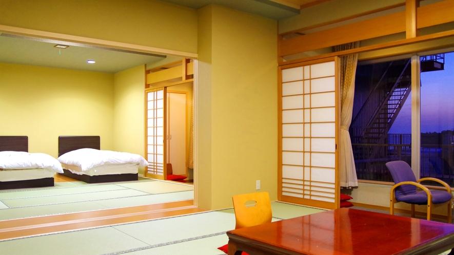 二間部屋Aタイプ和室から撮影