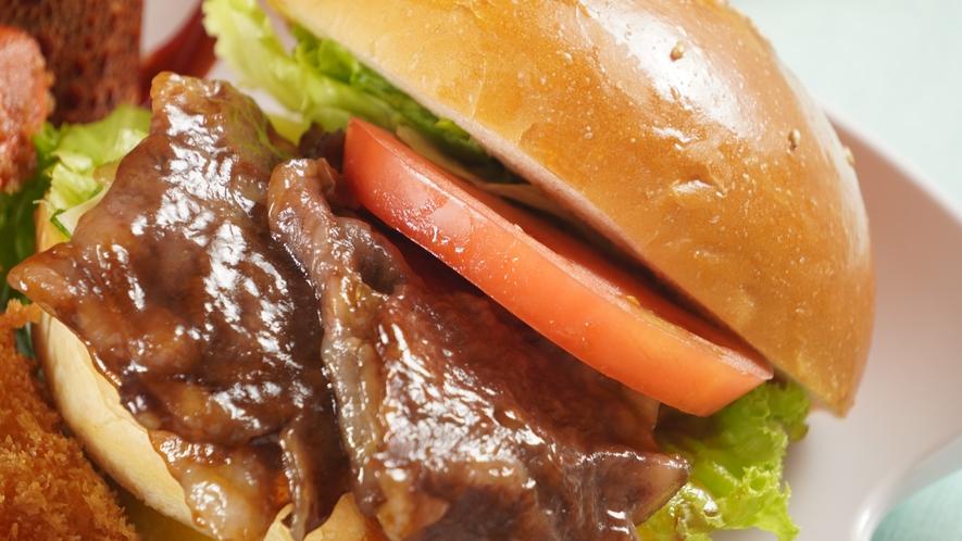 島根和牛サーロインハンバーガー
