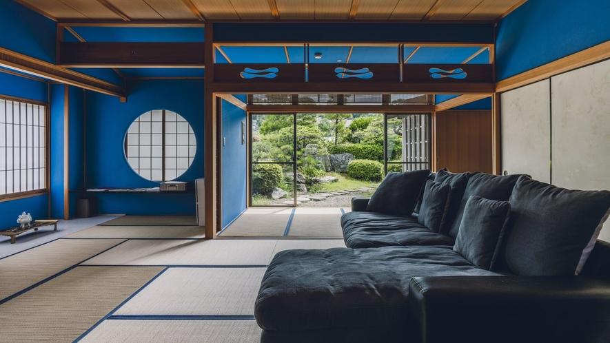 露天風呂付客室「出雲-IZUMO-」 専用の庭園