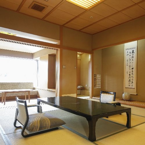温泉付き 最上階客室【和室12.5畳】