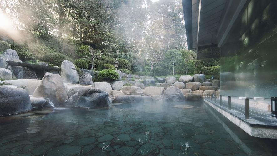 神話の湯 露天風呂