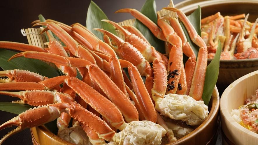 夏の蟹食べ放題