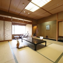 庭園を望む客室【和室12.5畳】