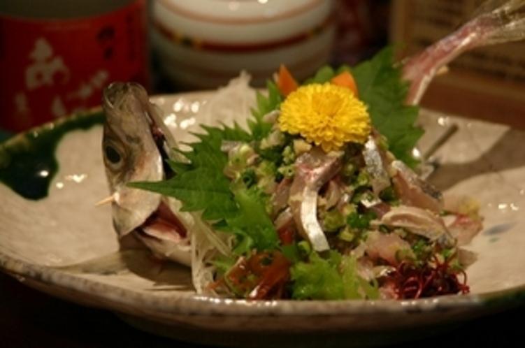 魚のお造り