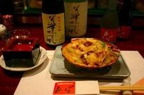 旬な料理(貝焼き)