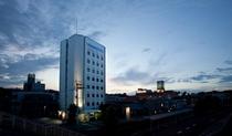ホテル 夜景写真