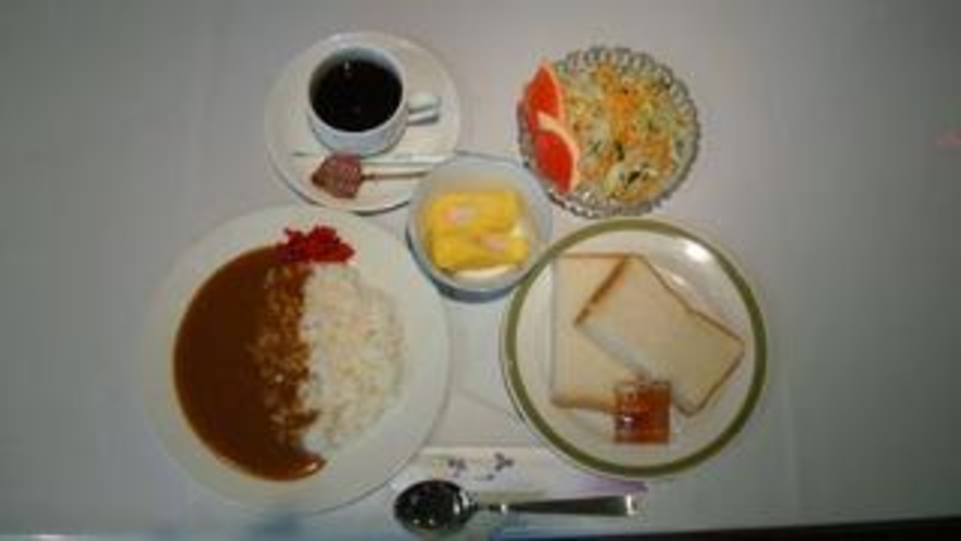 朝食例1【洋食】
