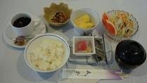 朝食例2【和食】