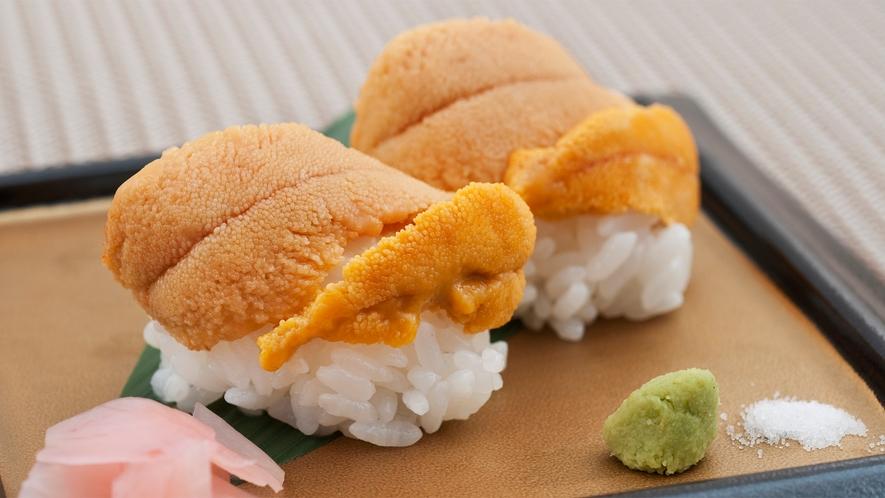 地ウニ寿司