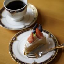 カフェ『バウム』のケーキセット