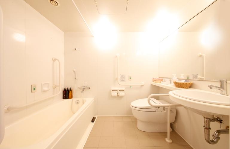 ユニバーサルシングル・ツイン バスルーム 1,600mm×2,300mm