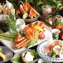 【蟹フルコース】