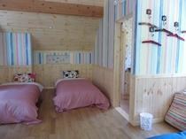別館の2階の寝室