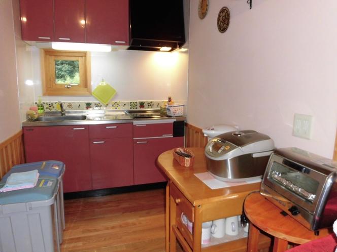 2階のキッチン