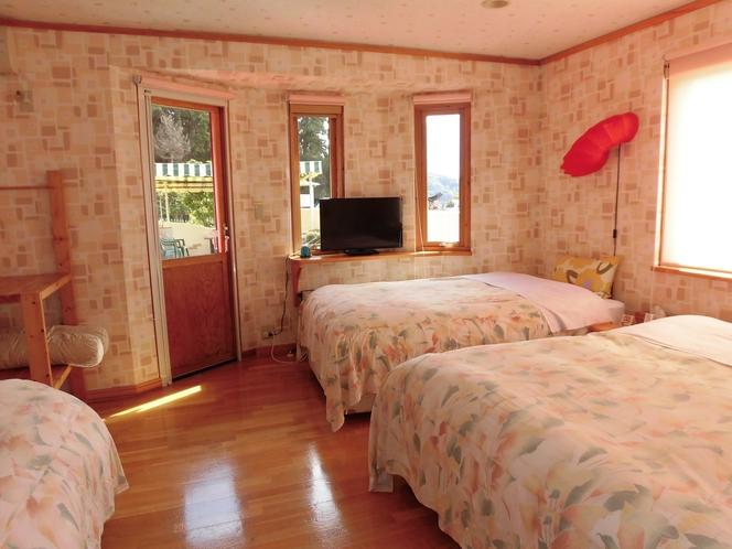 A棟の寝室
