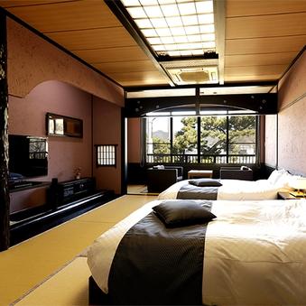 和ベッド客室(10畳+広縁)【禁煙】