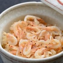 【夕食】季節の一例 季節の炊き込みご飯