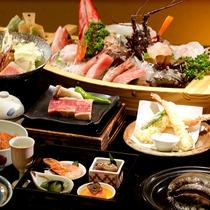 【料理】スタンダードプラン+アワビ陶板蒸し