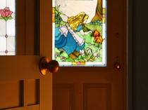 アリスのステンドグラス