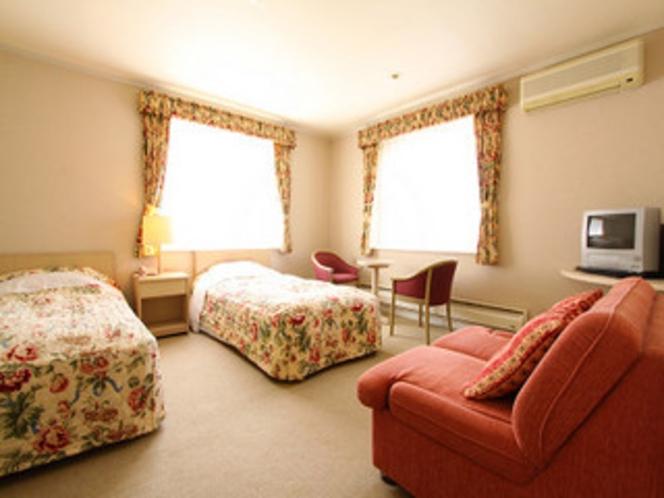 客室の一例ツインルーム