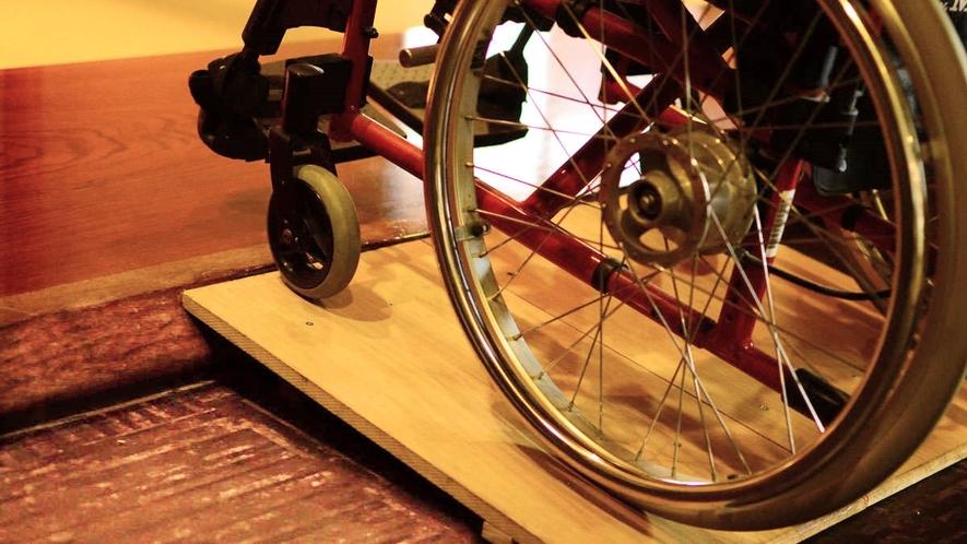 【レストラン】車椅子でもご利用いただけます