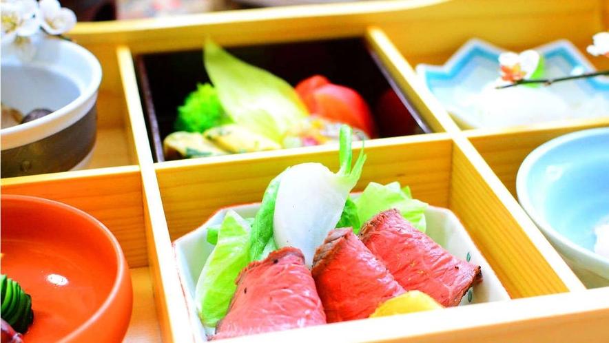 【お料理一例】グレードアップ会席前菜