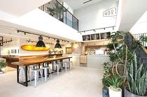 【朝食サービス提携店】空港ターミナル内「ノースショアカフェアンドダイニング」