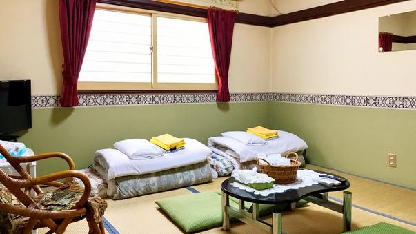 和室8畳(バス・トイレなし)3〜4名様利用