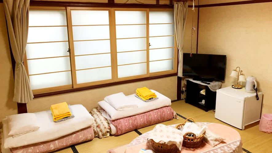 【禁煙】和室8畳(バス・トイレなし)3~5名様利用