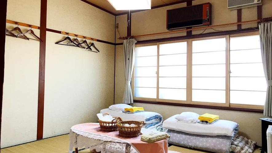 【禁煙】和室8畳(バス・トイレなし)3~5名様利用の一例