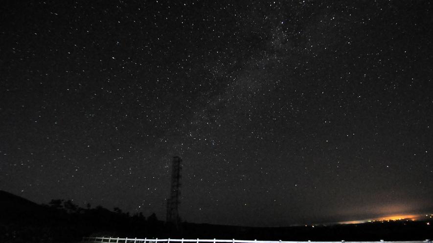 【開陽台から見る星空】