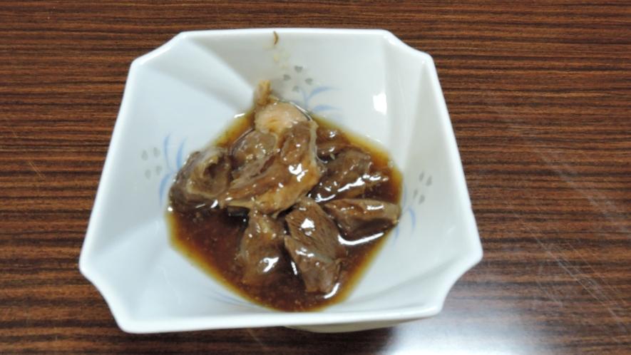 *夕食一例/珍しい熊肉を食べられるのは、マタギの里ならでは!