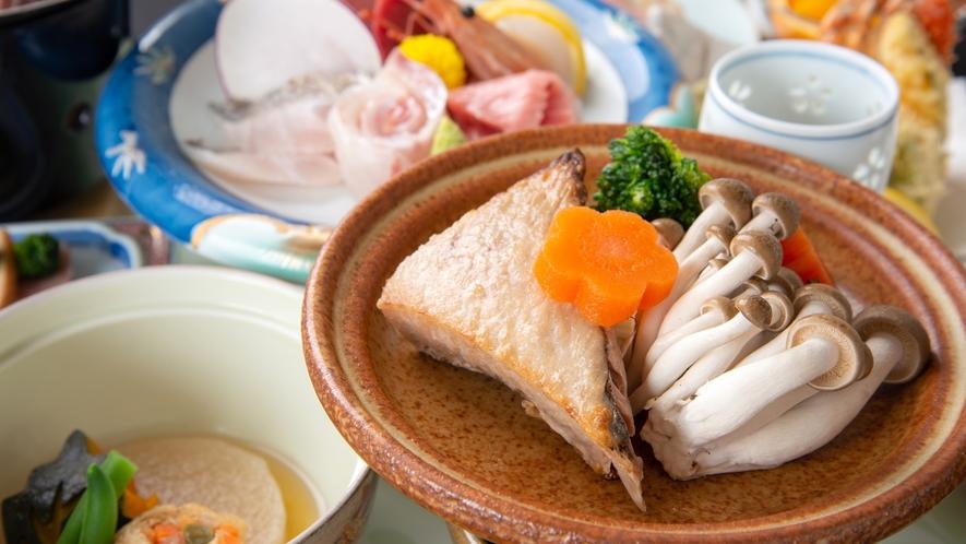*夕食一例/三崎膳(全11品)