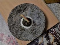里芋のイカ墨コロッケ