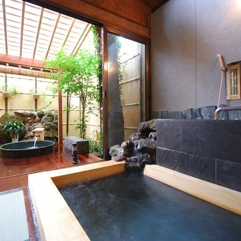 ガーデン風呂、露天風呂(冬季間閉鎖)と和風香の湯は毎日無料 貸し切りとなっております