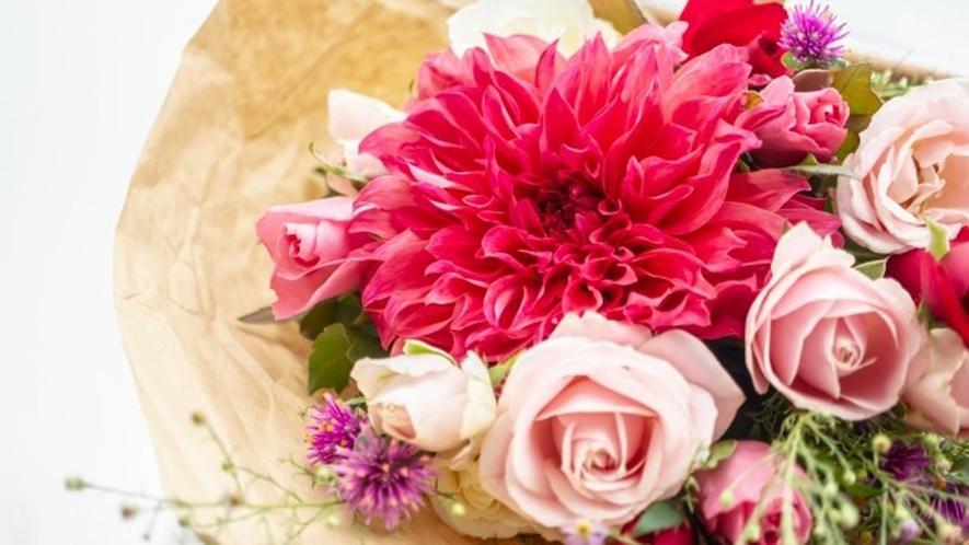 記念日プランお花
