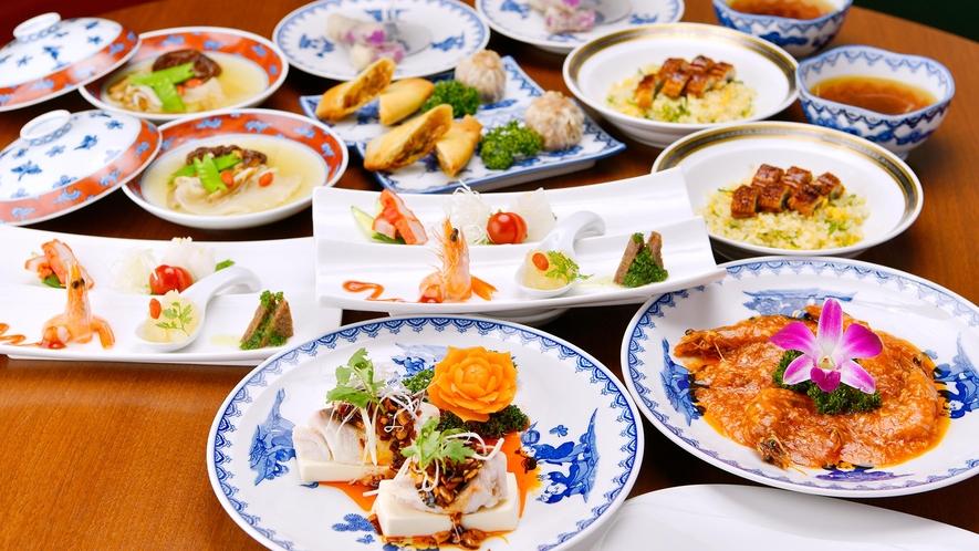 2Fレストラン中国料理「翠」コース一例