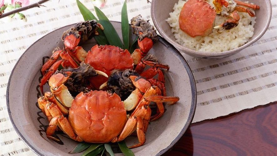 【七山】ツガニ料理