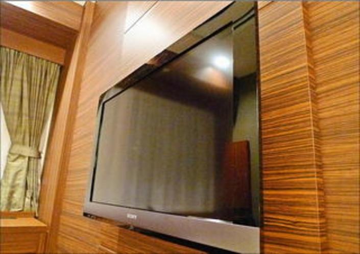 お部屋のテレビは32インチ以上の超薄型LED液晶です!